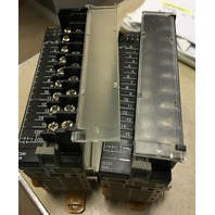 Lot of 2 Omron ID211 Input unit