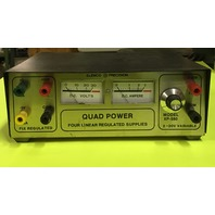ELENCO PRECISION- QUAD POWER, four linear regulated supplies, MODEL- XP-580