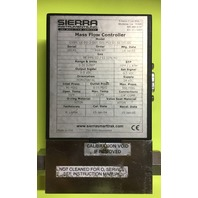 Sierra-C100L-LE-DD-2-OV1-SV1-PV2-V1-S1-CO-GS, High Performance Digital Gas Mass Flow Meters & Controller