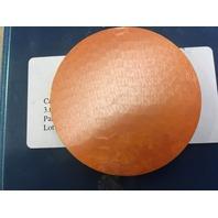 Kurt J. Lesker Co. Cadmium Sulfide Target, Cds, EJTCDSX403A2  99.99% Pure