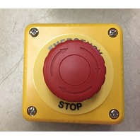 IDEC Emergency Stop Button FB1W-XW1E