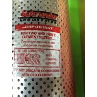 SCHROEDER K10 Filter Element,Cellulose,10 Microns