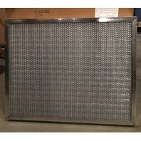 "Smith Filter Corp 12/  20 x25 x2"" Heavy Duty Galvanized Steel Mesh Air/Grease Filters"