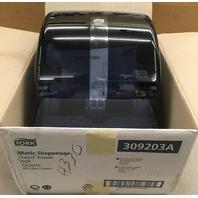TORK-Matic Dispenser, Hand towel Roll, Quarts, HI Matic Sysytem/ In box 309203A