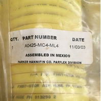 PARKER HANNIFIN FAST-STORE RETRACTING AIR HOSES/ LOT of 5 short, 2 long