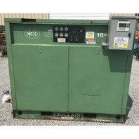 Sullair 16BS-75H Rotary Screw Air Compressor 75HP  375 CFM