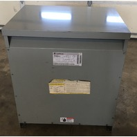 GE General Electric 9T23B2672 Transformer 37.5 KVA Single Phase