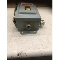 Square D Safety Switch 30 AMP 600 VAC, 30 HP, 3 PH, Single Throw-not fusible