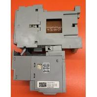 Allen Bradley Contactor, Cat. No. 100-C09D, Series 10 A,  W/ Overload Relay, Cat.No. 193-EEDB, Series C