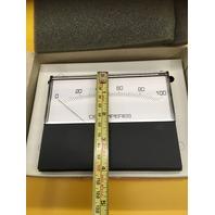 "MODUTEC/RAM Panel Meter ( 5"" X 4"" ) IN BOX, 0-100 DC Amperes, MOD: 4SS-DAA-100"