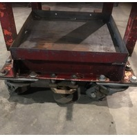 "Manual Crank Lift Die Cart,  53"" Lift"