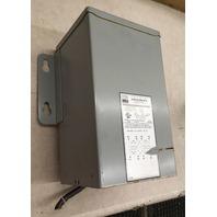 EGS HD 2 KVA Transformer, Primary. V 240/480 Socondary V 120/240, 1 PH, Cat. HS1F2AS