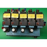 Mac 82A-AC-CKA-TP-DAAP-4DA Block of 5 valves