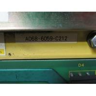 FANUC, SPINDLE SERVO UNIT A06B-6059-H212 #H594,  W/ A06B-6059-C212