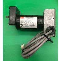 Dayton Permanent Magnet DC Gear Motor 4Z539A, 90V DC, HP 1/30 Input, RPM 102 F/L