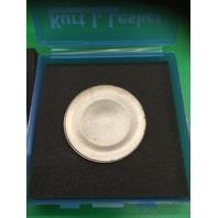Kurt J Lesker Molybdenum Target,  Mo, 90% / 3.00 Dia. x .125 Thick, Part# EJTMOXX353A2