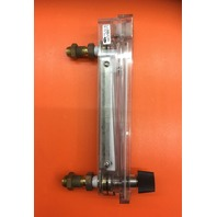 Dwyer Rate-Master Flowmeter, RMB-57-SSV, 3% Acc, 60-600 SCFH air, PC Body