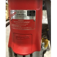 """HD-Milwaukee Dymodrill/ Core Drill/ Cat No. 4005/ 3/4"""" (19mm) to 7"""" (178mm), 1 1/4""""- 7 Spindle thread"""