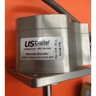 US Digital Absolute Encoder/ Parts HD25A-F-CA10-AD7-6FT, W/US-(AD7) HD25A Interface/ Breakout Box