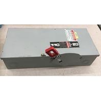 GE HD Saftey Switch 60 AMP, 600Vac/250 Vdc, Max HP 50,Type 1 Indoor, Cat. TH3362