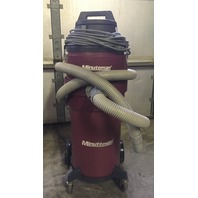 Minuteman HEPA, X-829 Series ULPA Critical Filter Wet/Dry Canister Vacuum - 6 Gallon