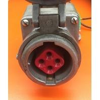 COOPER Receptacle  , Cat No. AR341/ Model M3/ 30 A/ 4 wire/ 4 Pole/250 VDC, 600 VAC