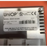 UniOP BKDR-16 Monochrome  LCD 5./ Model No. BKDR-16-0045