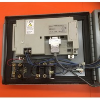 Omron touch screen NT20S-ST121B-V1 + SCI Industrial Enclosure No. AL 54 5660