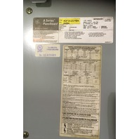 General Electric Main Lug Panelboard ADF3121MBXAXB4 w/ 4- Spectra SEHA36AT0030 Breakers