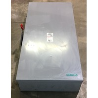 Siemens HF366 600 Amp 600VAC Heavy Duty Fusible Safety Switch Type 1