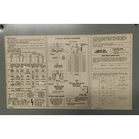 General Electric A Series, Main Circuit Breaker Panel 225A 208Y/120V