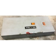 General Electric 400A  600V Fusible Safety Switch TH3365