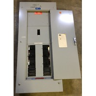 General Electric 225 Amp Breaker Panel -MainBreaker with 6 breakers