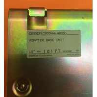 Omron C200HW-AB001/ ALPHA CPU ADAPTER PLATE/ ADAPTER BASE