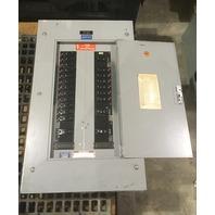 General Electric Type NHB, 277/480 V, 100 AMP Breaker Panel Main breaker, 21 breakers