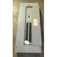 General Electric Type NLA3, 225 AMP, 208Y/120V, 3Ph, Main breaker with 19 breakers