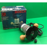 Bouch 1617 Fixed Base Router, 2 Hp, 25,000rpm, 120V , 60 Hz, 11A