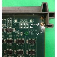 YASKAWA ELECTRIC * CONTROL BOARD DF9200722 * JANCD-MMM04 REV. D20