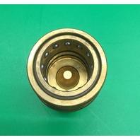 DIXON/DQC H-Series ISO-B Poppet Valve Female Threaded Brass Quick Coupler (8FH8-B)
