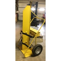 2 Cylinders - Firewall - Hoist Hook - Heavy Duty - yellow - Welding Cart (Model #HT55216FWSC)