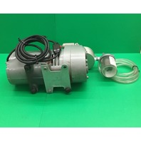 Gast Oil-less Vacume Pressure Pump, Model No. 0523-V138Q-G18DX, 1/4 HP, 1725 RPM, 1 Ph/ Tested