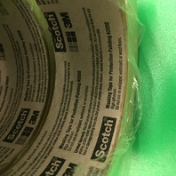 3M Masking Tape Value Pack, Cat. CP62020VP,6 rolls of film(6ft X90ft), 6 rolls of tape 360 yd