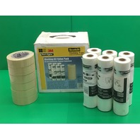 3M Masking Tape Value Pack, Cat. CP62020VP,6 rolls of film(6ft X90ft), 6 rolls of tape 360 yd