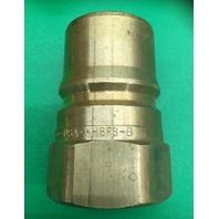 Lot of 6-Dixon H8F8-B, DQC H-Series ISO-B Female Plug