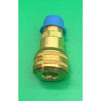 "2-Eaton Hansen Brass 4000 Series Industrial Interchange, Coupler Socket, 1/4"" Body Size x 1/4"" NPT Female"