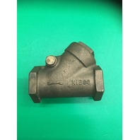 "NIBCO 1"", Class 150 Bronze Check Valves, T-433 Threaded"
