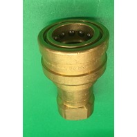 Eaton Hansen series B6 HKP, 3/4 NPT Brass Quick Disconnect Coupling
