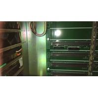 Yaskawa Electric JZNCU-MRK12-1E Rack, W/ Yasnac Power supply CPS-18FB, No. V7Y-13325