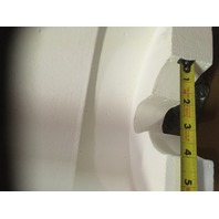 2-WATLOW Ceramic Fiber Heaters SEMI-CYLINDRICAL UNITS, VN1 08E38JA /1131
