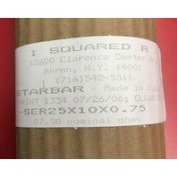 I Square R, Starbar, Heating Element Type SER 42 X 30 X 2.75 ,03.01 ohms